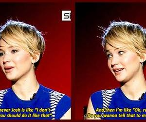 Jennifer Lawrence, oscar, and funny image