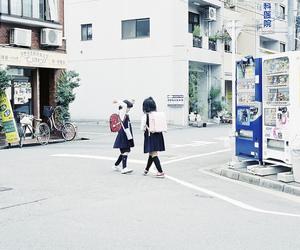 japan and girl image