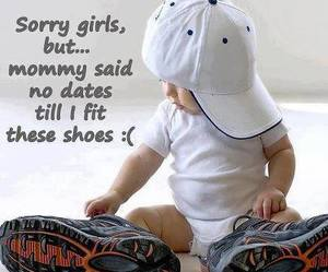 baby, shoes, and funny image