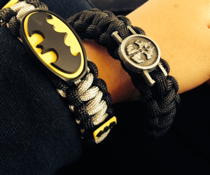 batman, bracelettes, and dark knight image