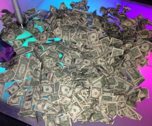 money, stripper, and cash image
