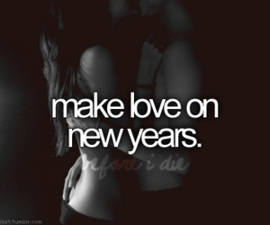 love and new year image