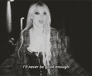 Taylor Momsen, quotes, and black and white image