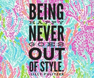 happy, quote, and style image