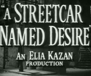 1951, a streetcar named desire, and film image