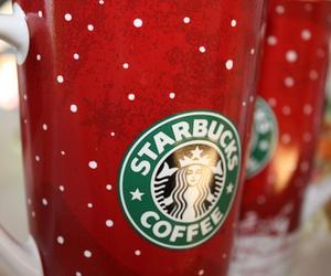 christmas, starbucks, and starbucks coffee image
