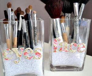 Brushes, makeup, and diy image