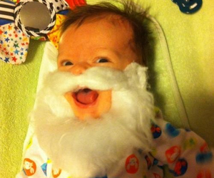 baby, cute, and beard image