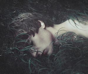 boy, art, and nature image