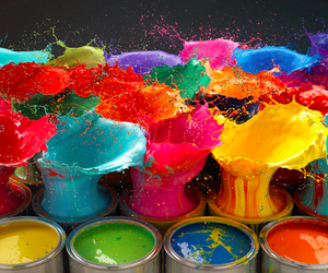 colors, paint, and colorful image