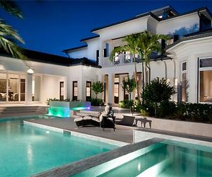 glamour, luxury, and pool image
