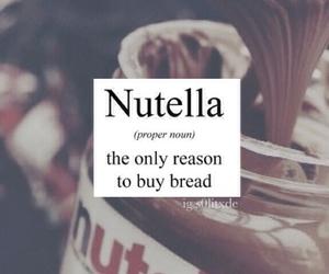 delicious, nutella, and foodporn image