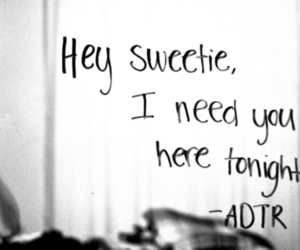 adtr, a day to remember, and quote image