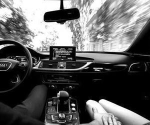 audi, car, and couple image