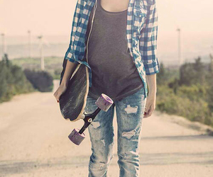 girl, style, and skater image