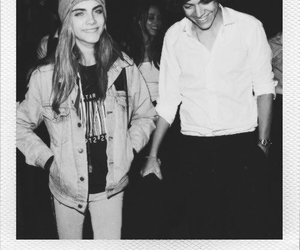 models, Harry Styles, and black and white image