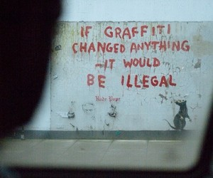 * and BANKSY image