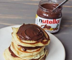 beautiful, breakfast, and nutella image