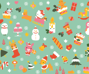 background, christmas, and colors image
