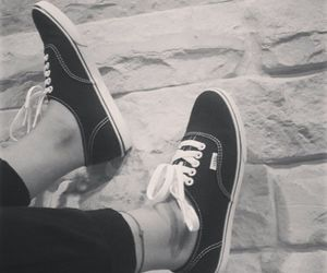 classic, shoes, and vans image