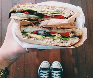 converse, food, and yummy image