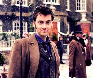doctor who, david tennant, and ten image