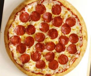 cheese, food, and pepperoni image
