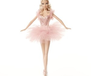 ballet, barbie, and doll image