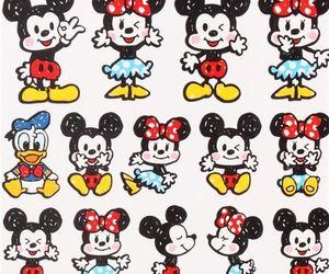 cute, disney, and mickey image