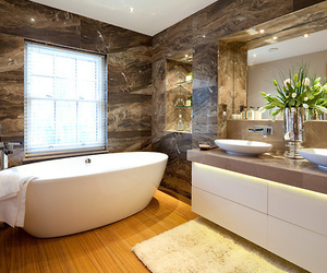 luxury, bathroom, and design image