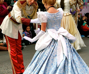 princess, cinderella, and couple image