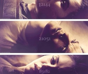 damon, elena, and serie image
