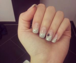 glitter, happy, and nails image