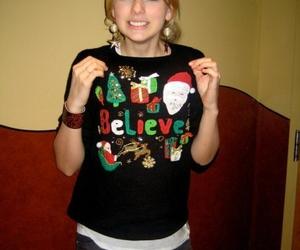Taylor Swift and christmas image
