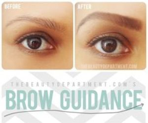 eyebrows, diy, and brows image