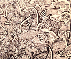 abstract, cool, and scribbles image