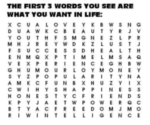 love, life, and words image