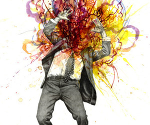 colours and exploding image