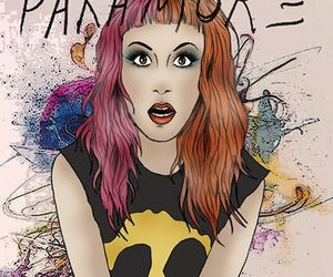 paramore, drawing, and hayley image