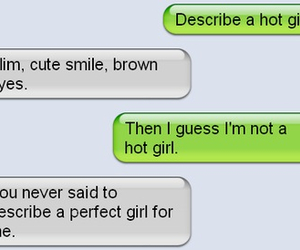 cute, love, and text image