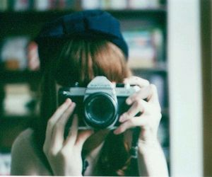 girl, photography, and vintage image
