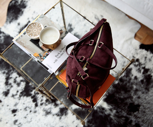bag, coffee, and photography image