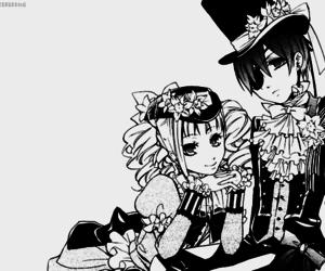 anime, kuroshitsuji, and love image