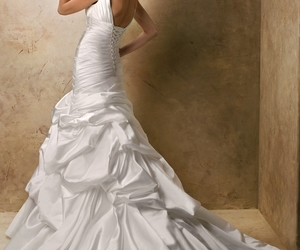 wedding dress and evening formal prom dress image