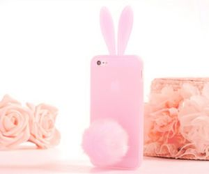 bunny and iphone case image