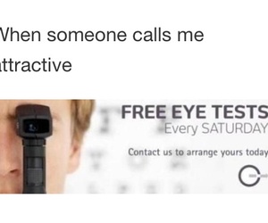 attractive, funny, and test image