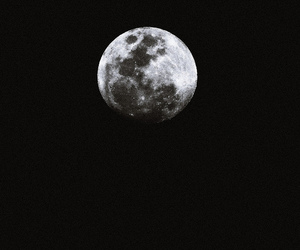 moon and dark image