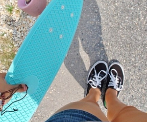 black, summer, and shoes image