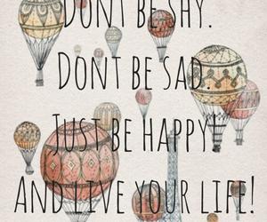 be, happy, and sad image