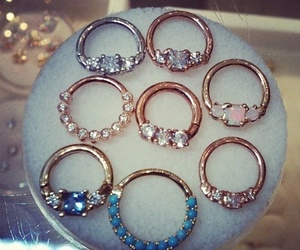 jewelry, rings, and septum image